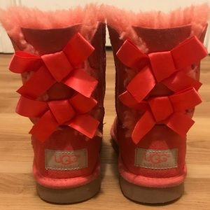 Little Kid Bailey Bow Ugg Boots